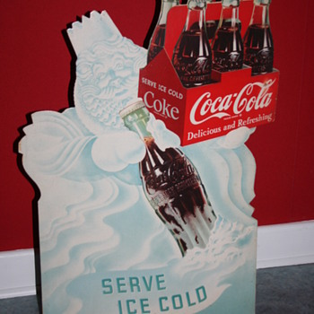 coca cola cardboard display - Coca-Cola