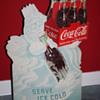 coca cola cardboard display