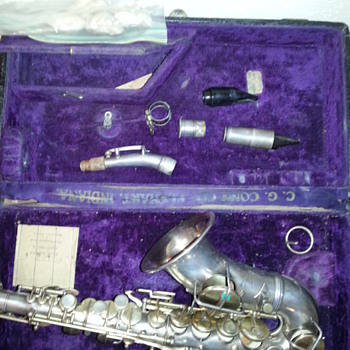 Old Saxaphone - Musical Instruments