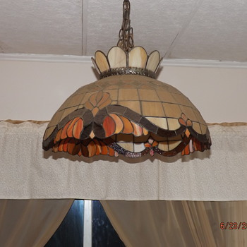 Heart Tiffany ceiling light - Lamps