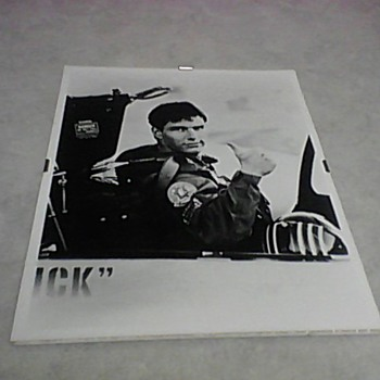 AGFA TOM CRUISE TOP GUN SET PHOTO - Movies
