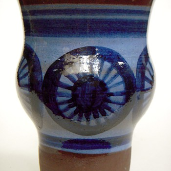 Scandinavian Pottery Vase?~Unrecognized mark - Pottery