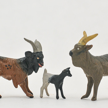 Clay Animal Miniature Figures