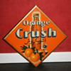 orange crush celluloid sign