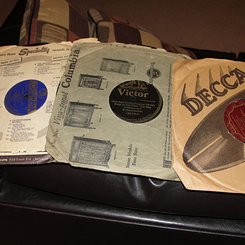 Records from Grandfathers garage - Records