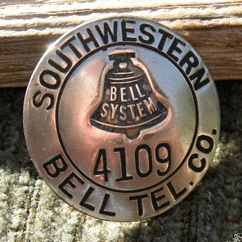 More of the Bell System Employee badges