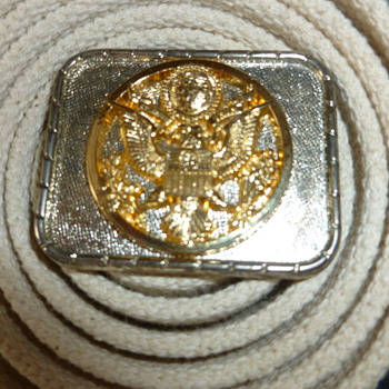 Unknown Military Belt - Military and Wartime