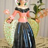 Vintage Lady Planter