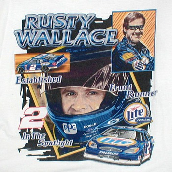 "NASCAR ""Rusty Wallace"" T-Shirt"