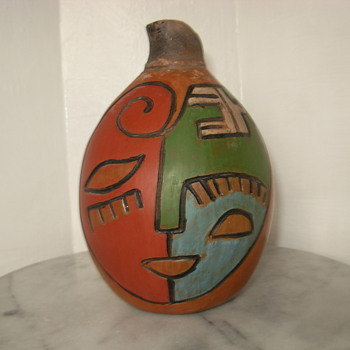 This is a piece of Chulucanas, peru pottery by Miguel Rivas that i got about 3 weeks ago - Art Pottery