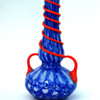 WELZ Bubbles Vase with double  serpentine