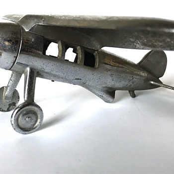 Repurposed Vintage Lockheed Vega Hood Ornament - Art Deco
