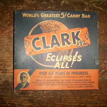 Clark candy box 1930s