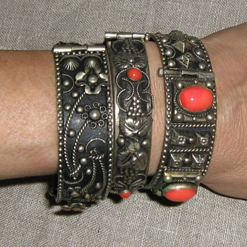 "Exotic ""Egyptian"" tourist jewelry: 1940's-50's Italy, Morroco, Spain, Mexico? - Costume Jewelry"