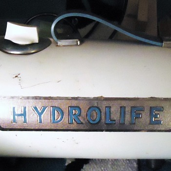 Update on Hydrolife,  Not an Ion Machine but one of first jacuzzi's made end of 50's and early 60's