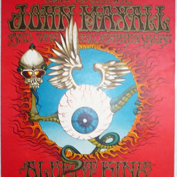 Houston Freeburg Collection of Sixties Rock Concert & Blacklight Posters - Posters and Prints