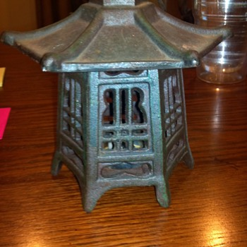 Japanese Cast Iron Lantern