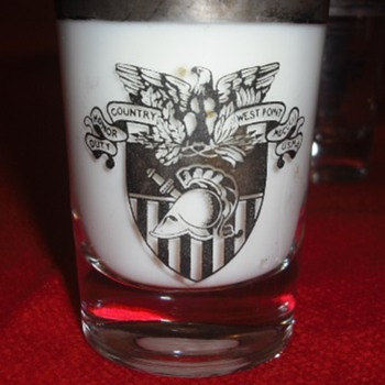 West Point Shot Glasses - Military and Wartime