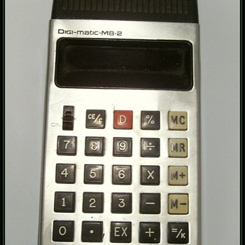 Digi-Matic Calculator -- 1970's - Electronics