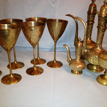 Vintage brass from India - Asian