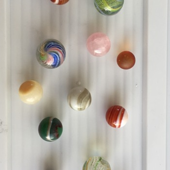 Vintage Marbles - Art Glass