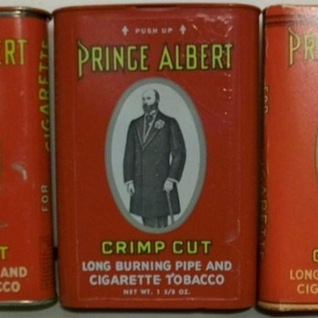 Some of My Prince Albert Pocket Tins.