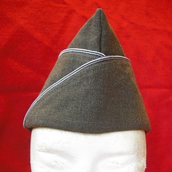 WWII US Garrison Cap - Military and Wartime