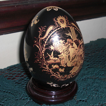 Limoges egg