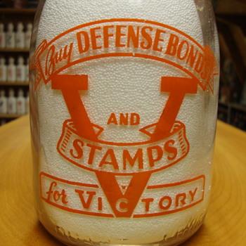 Danville (Ill.) Producers Dairy War Slogan....... - Bottles