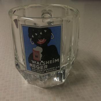 Walsheim Brauerei - Walsheim Neger beer glass