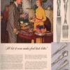 1950 Gorham Sterling Advertisements