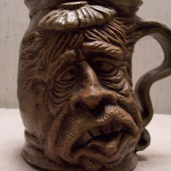 Rumph Mug-  the hangover - Art Pottery