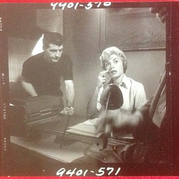 Janet Leigh Photo on movie set of Psycho  - Movies
