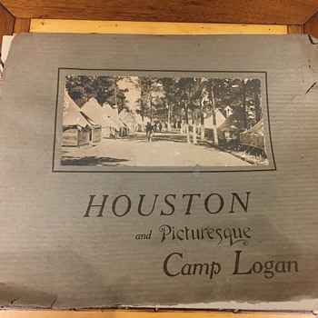 houston and picturesque camp logan book - Photographs