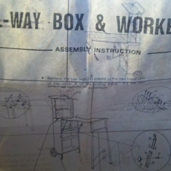 Roll-Way Box & Workbench - Tools and Hardware
