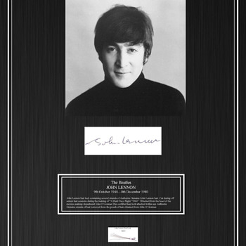 John Lennon's hair-1964 - Music