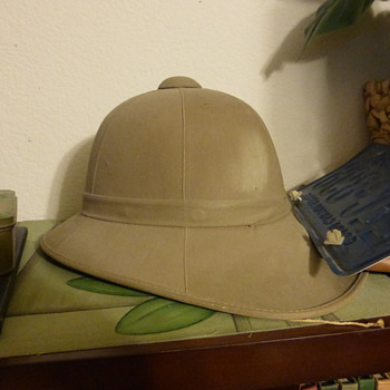 WWII Pith Helmet - Military and Wartime
