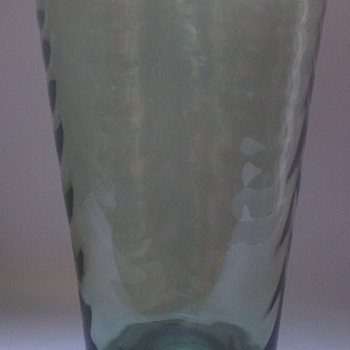 Whitefriars Sea Green Vase