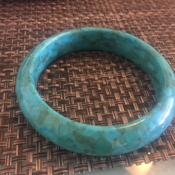 Identify what material and item Turquoise? - Costume Jewelry