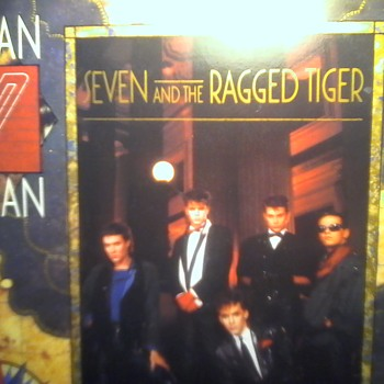 "Duran Duran ""Seven and the Ragged Tiger"" - Records"