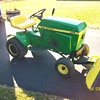 Vintage John Deere 100
