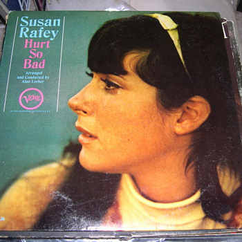 RARE JAZZ SUSAN RAFEY HURT SO BAD ON VERVE RECORDS