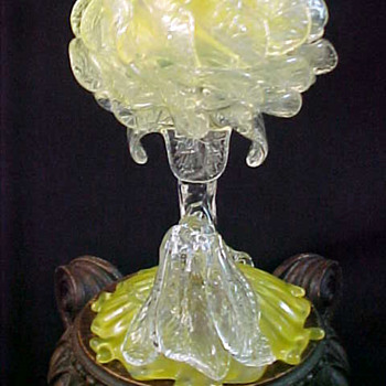 Loetz ~ Peony ~ Floriform Art Glass Vase - Art Glass