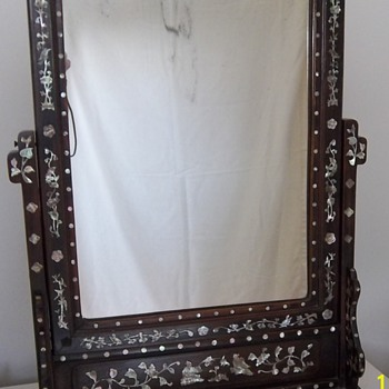Chinese Dressing Mirror - Asian