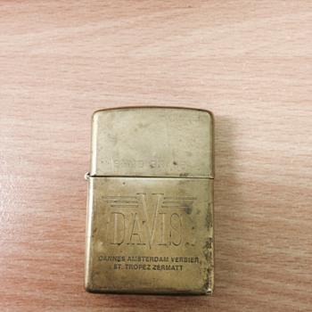 Brass zippo