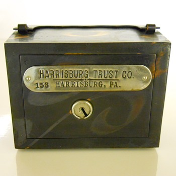 "Promotional Advertising Bank""Harrisburg Trust Co""Circa 1900"