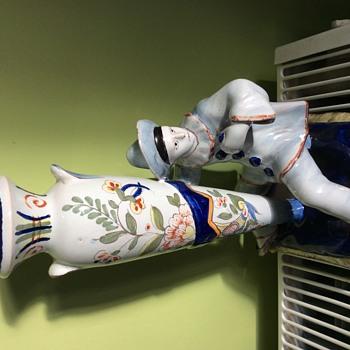 Clown vase - Figurines