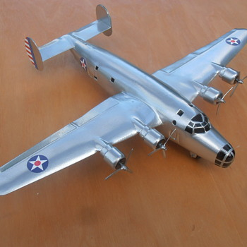 One-Off Wyandotte XB-24 Liberator Toy Airplane