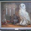 "M  A Madux 1973 oil on canvas ""Mr Snow"""