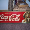 1942 Coca Cola Tin Sign